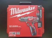 MILWAUKEE TOOL Cordless Drill 2407-22